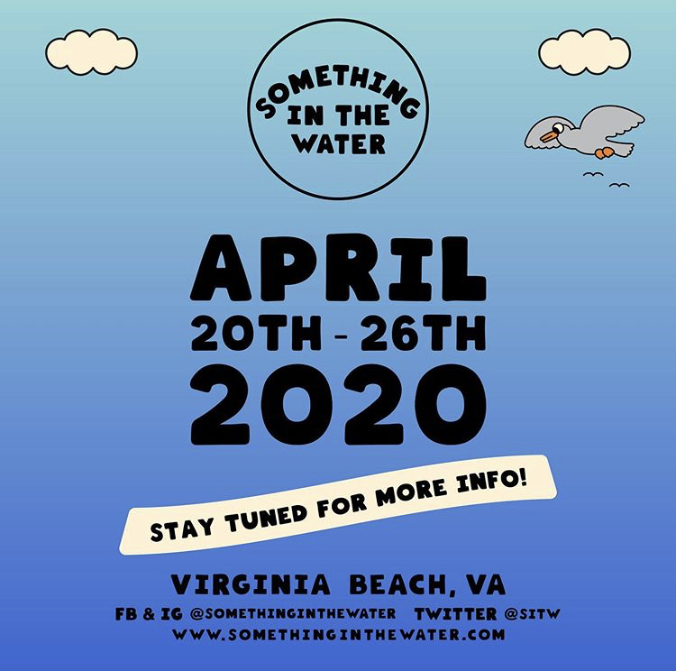 Something In The Water announced for return in 2020