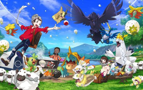 """A graphic illustrating the new Pokémon added to the franchise in """"Pokémon Sword"""" and """"Pokémon Shield."""" Picture provided by The Pokémon Company."""