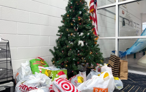 Angel tree located in library.