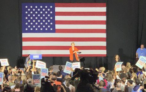 Elizabeth Warren at an October town hall in Norfolk, Virginia. Photo taken on Oct. 14.