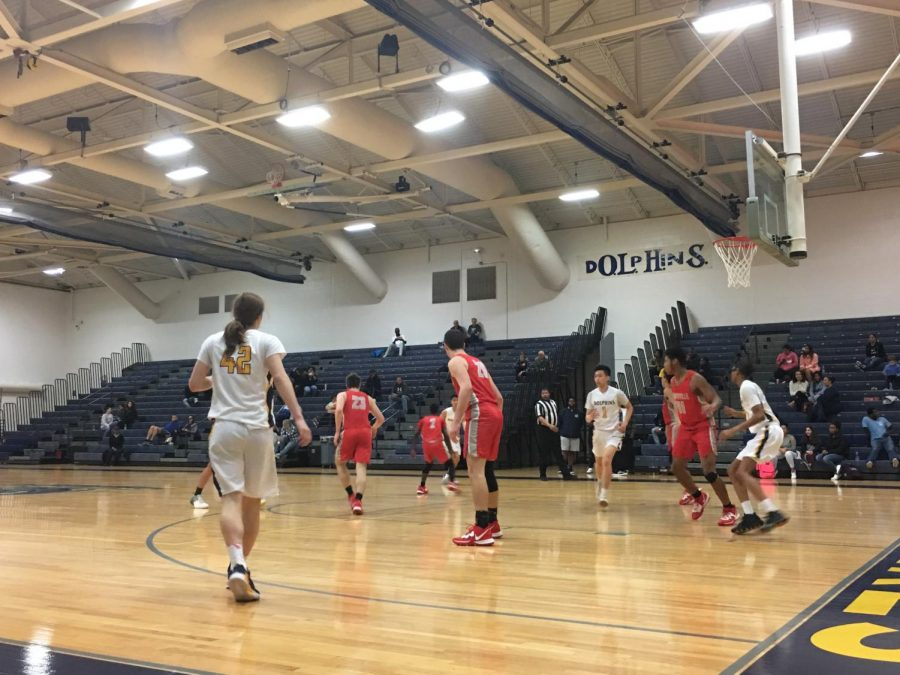 Boys basketball competes against Kempsville. Jan 10. 2019