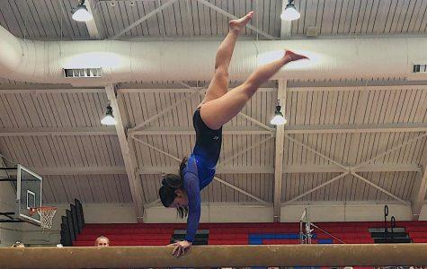 Gymnastics celebrates four-year victory streak