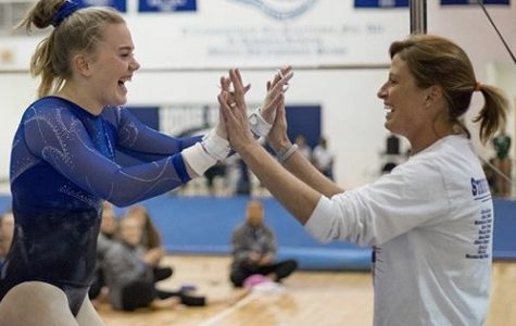 Gymnastics set sights on gold for state championship
