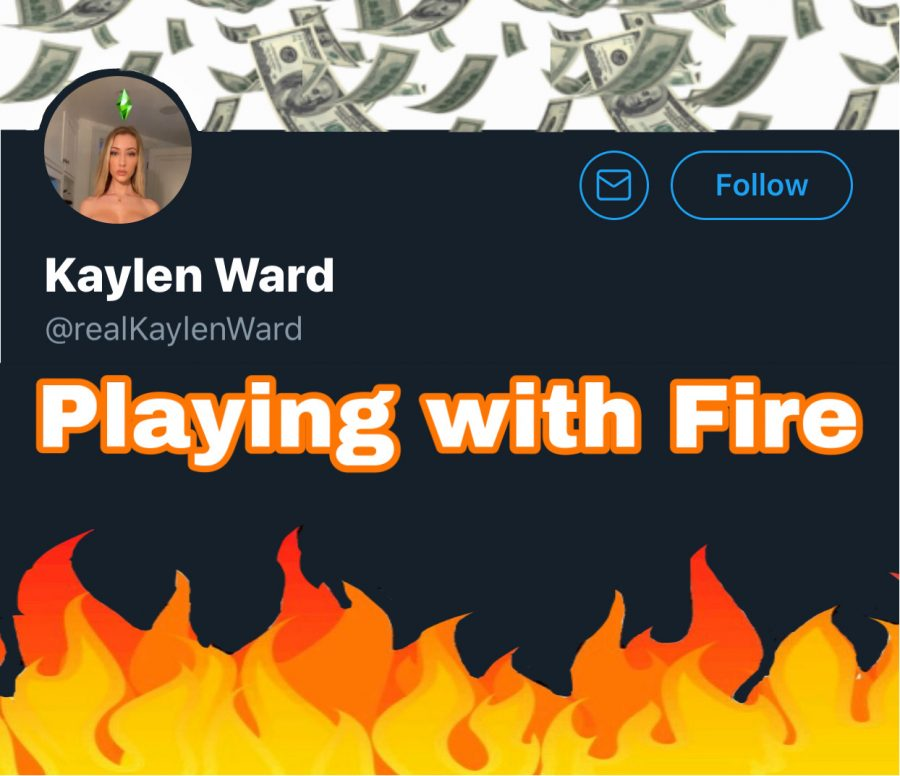 After the deletion of her Instagram account, Kaylen Ward continues to monitor donations via her Twitter.