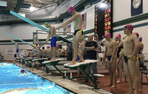 Boys swim wins over First Colonial