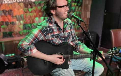 Andy Geels performing at The Sutler, on January 11, 2020