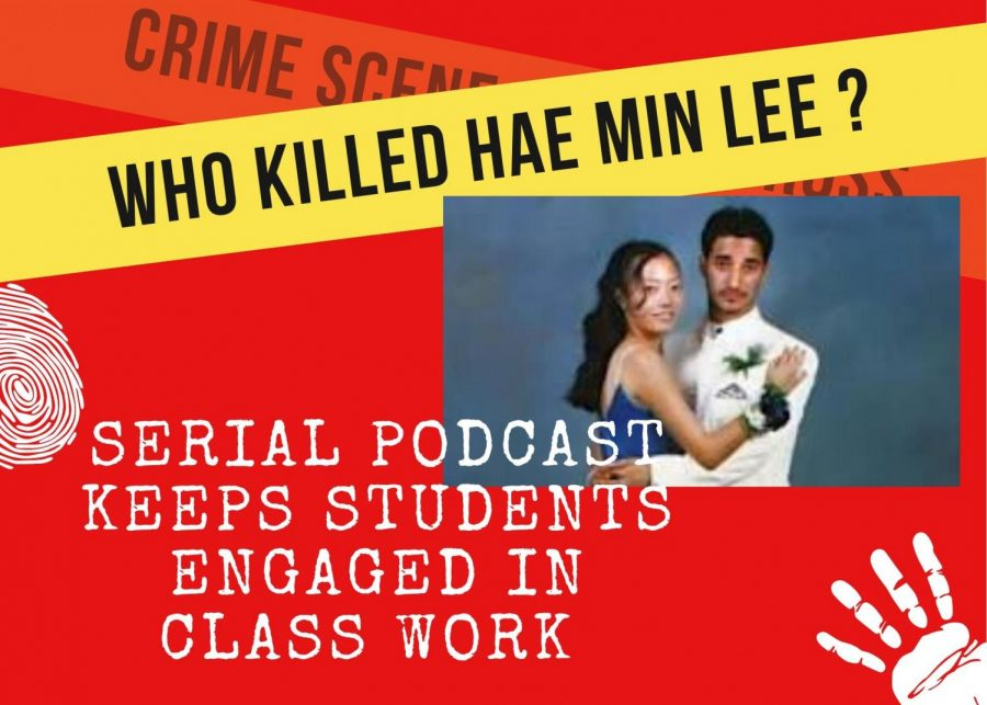 From left to right, victim Hae Min Lee and murderer Adnan Syed posed together in their prom picture.