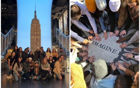 Art classes visit Big Apple for annual field trip