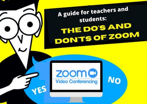 "Canva depicts the ""For Dummies"" series of instructional books template explaining a guide for newcomers on how to use zoom."