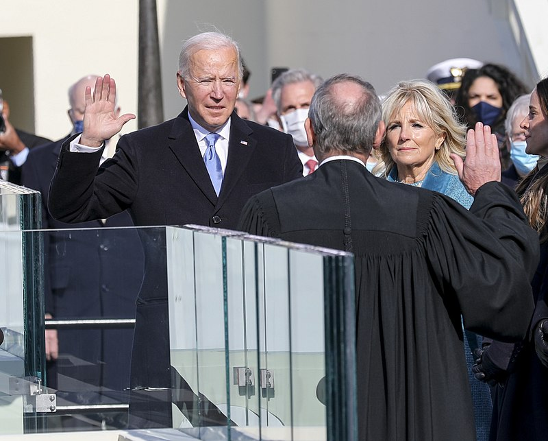 President-elect+Joseph+R.+Biden+Jr.+takes+the+presidential+oath+of+office+at+the+U.S.+Capitol%2C+Wash.%2C+D.C.%2C+Jan.+20%2C+2021.+
