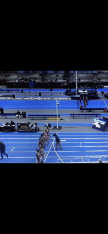 Nearly 2500 athletes competed on Jan. 19 at the brand new, state-of-the-art, $68 million dollar Virginia Beach Sports Center. Despite strict guidelines, according to WAVY.com, the track and meet received rave reviews. Footage like this image can be found on milestat.com.