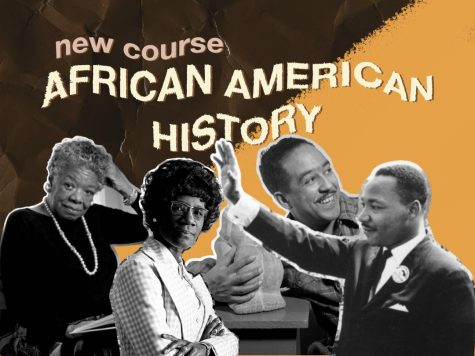 Procreate creation that depicts famous Black leaders throughout history to introduce the new African American History elective course.