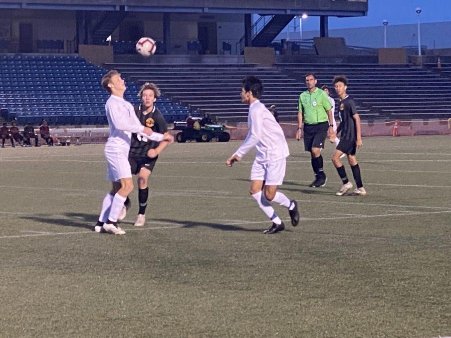 Boys soccer conclude the regular season with a victory over Bayside 4-0 on Tuesday, June 1 at the Virginia Beach Sportsplex.