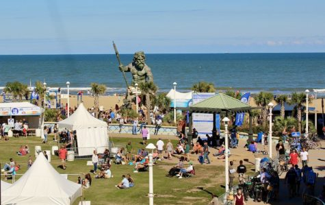 Pictured here is Neptune Festival on 30th Street at the Oceanfront at Virginia Beach.